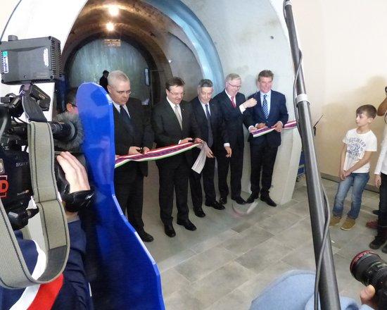 Feierliche Eröffnung der BBT Tunnelwelten