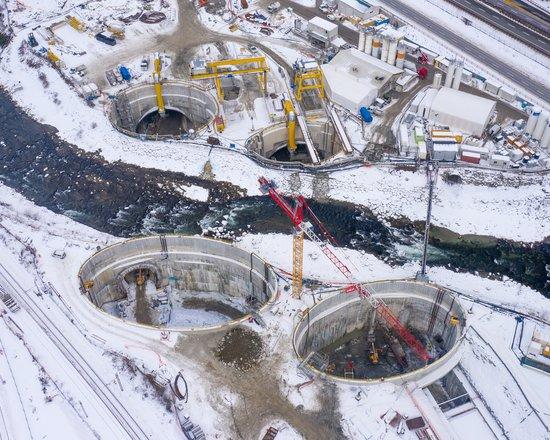 Cantiere Sottoattraversamento del fiume Isarco: iniziato il congelamento della prima galleria di linea