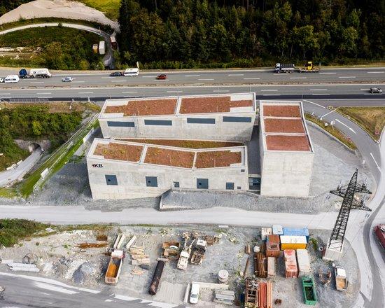 Innsbrucker Kommunalbetriebe und BBT SE errichteten neues Unterwerk im Ahrental