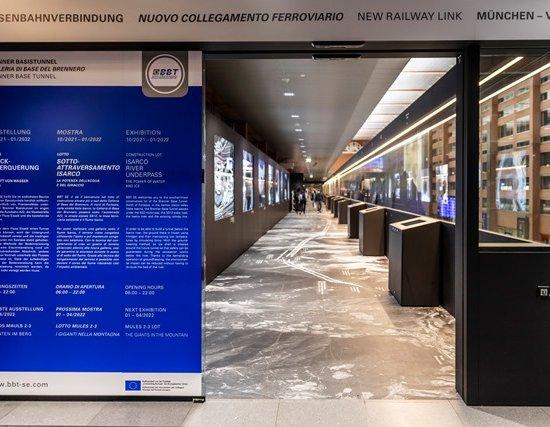 Mostra BBT alla stazione di Innsbruck incentrata su una nuova tematica