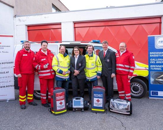 Neues Einsatzleiterfahrzeug: BBT SE unterstützt das Rote Kreuz