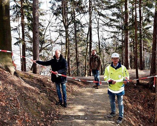 Apertura del sentiero escursionistico sostitutivo nella Gola del Sill