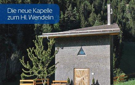 Die neue Kapelle zum Hl. Wendelin