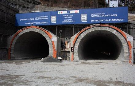 Südportal des Brenner Basistunnels