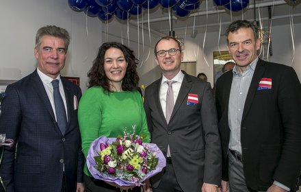 Konrad Bergmeister, Ingrid Felipe, Robert Possenig, Georg Willi