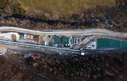 Impianto di depurazione acqua di Unterplattner