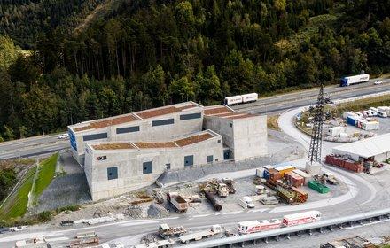 Lotto di costruzione Tulfes-Pfons: Sottostazione elettrica di Ahrental