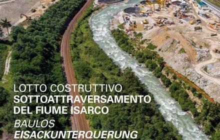Area di progetto Sottoattraversamento del fiume Isarco
