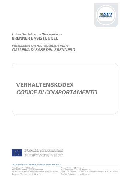 Verhaltenskodex