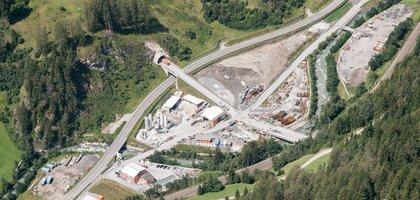 Baustellenbesuch Wolf, Österreich