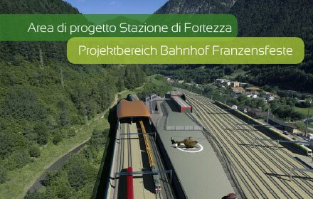 Projektbereich Bahnhof Franzensfeste
