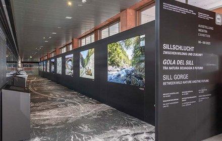 Dauerausstellung Innsbruck Hauptbahnhof