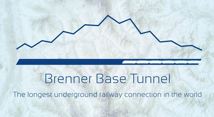 Brenner Base Tunnel - 3D animation 2019