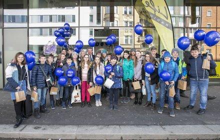 """Die Musikklasse """"3m"""" des BRG Adolf Pichler Platz sorgte für Musik und Begeisterung"""
