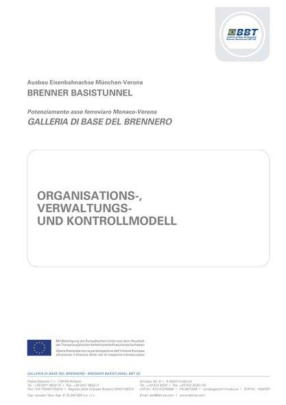 Organisations-, Verwaltungs- und Kontrollmodell