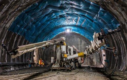Sottoattraversamento Isarco - posizionatore nella galleria nord ovest