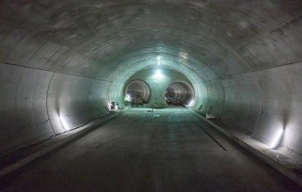 Construction lot Tulfes-Pfons: Double tube portal