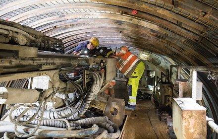 Exploratory tunnel Ahrental-Pfons