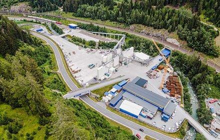 Area di cantierizzazione Wolf presso Steinach