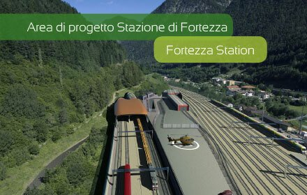Project area Fortezza railway station