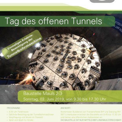 Tag des offenen Tunnels